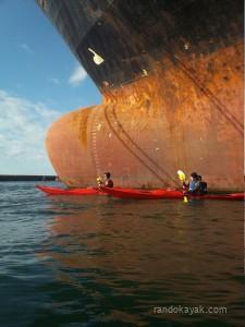 Balade en kayaks de mer au port de Brest