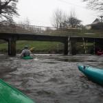 kayak de rivière, slalom à Landerneau - Photo de Jean-Luc