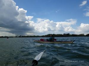 Balade en kayak de mer avec le Canoë Kayak Club d'Auray dans la ria d'Etel