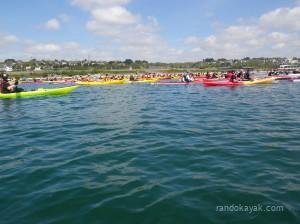 La Remontée de l' Elorn 2013 en kayak de mer
