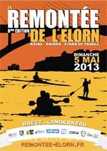 Affiche de la remontée de l'Élorn, édition 2013