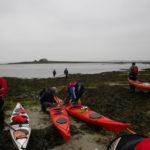 CDCK29 en kayak de mer à Béniguet.