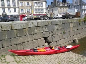 Randonnée en kayak de mer de Brest à Landerneau par l'Elorn.