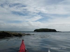 Balade en kayak de mer à la pointe de l'Armorique