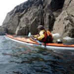 Stage CDCK29 entre Berthaume et la pointe Saint Mathieu, en kayaks de mer de randonnée.