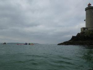Balade en kayak de mer au phare du Petit Minou.
