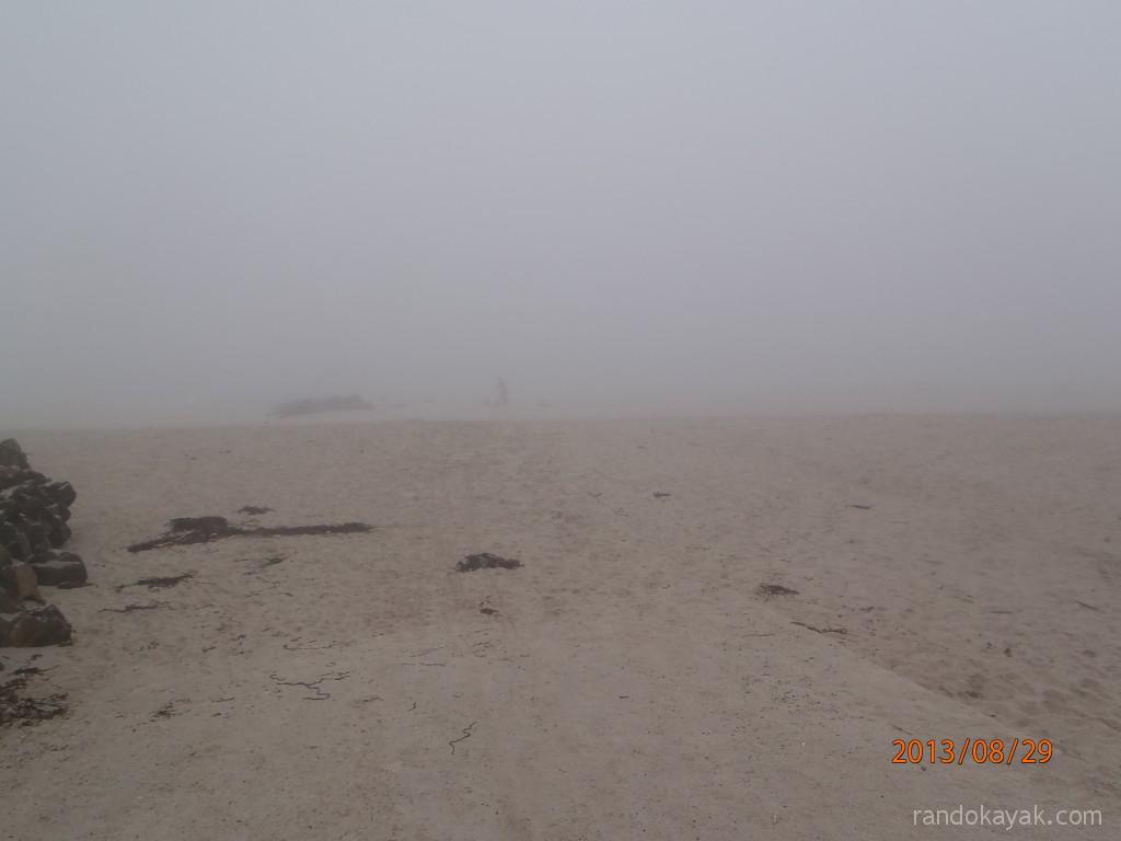 Porz Liogan dans la brume