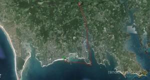 Balade en kayak de mer, de la Pointe Churchill à la Rivière de Crac'h.