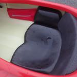paddle float Palm glissé sur le côté du siège