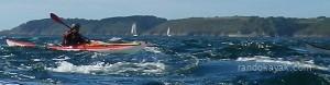 Jeux en kayak de mer à la Cormorandière.