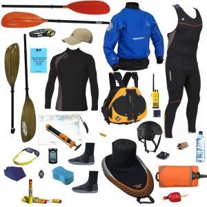 kayak de mer, équipements obligatoires et recommandés