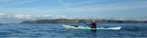 Dans le goulet de Brest, en randonnée en kayak de mer