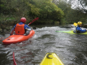 Descente de l'Elorn en kayak