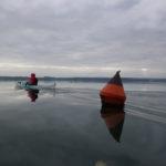 Kayak de mer en baie de Daoulas.