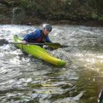 Kayak, se dégager d'une cravate en rivière.