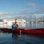 Exercices de sécurité en kayak de mer
