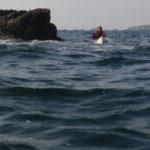 Kayak de mer à la pointe du Cormoran.