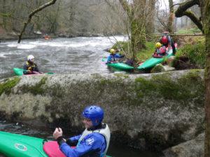 Stage kayak de rivière du CKB : Scorff, Blavet, Ellé.