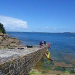 Pause sur l'île Milliau