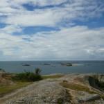 Ile Molène vue de l'île Milliau