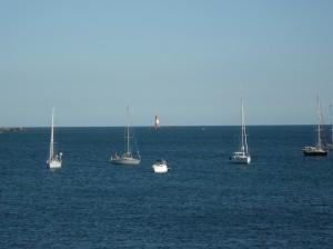 Phare des Cardinaux, vu de l'île d'Hoedic (56)