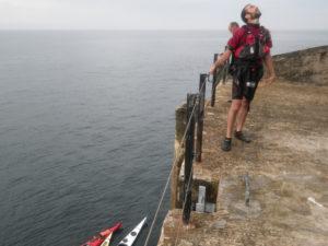Balade en kayak de mer au phare du Four.