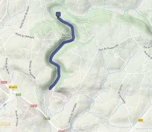 Le Stangala, notre parcours en kayak de rivière