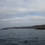 kayak de mer à la Pointe de Corsen