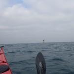 kayak de mer à la bouée des Pourceaux