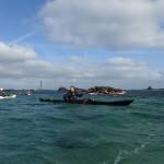 Retour de Stagadon en kayak de mer