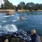 kayak de mer, Surf a Berder