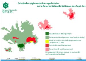 Réglementation de l'accès aux Sept-îles (22). 2010 - Réserve naturelle des Sept-Iles