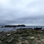 vue de l'île Téviec