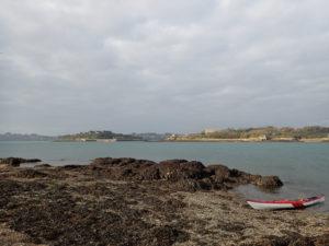 Randonnée en kayak de mer à l'île Perdue.