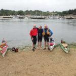 Arrivée au Pouldu au terme de notre grande randonnée du Tour du Finistère en kayak de mer.