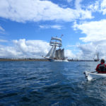 En kayak de mer, à la rencontre du Tolkien.