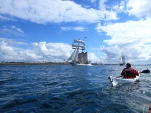 Balade en kayak de mer, à la rencontre du Tolkien.