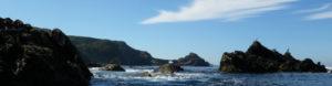 Randonnée en kayak de mer à la pointe des Capucins.