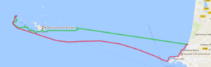 Randonnée en kayak de mer, de Granville à l'archipel de Chausey.