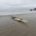 L'Xplore-L fabriqué par Tiderace, un kayak de randonnée.
