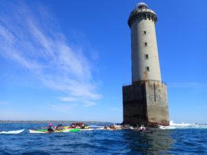 Stage guide de kayak de mer, à Kéréon.