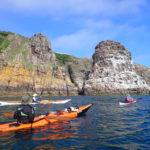 Tour de Bretagne en kayak de mer, 09 juillet, vers le cap Fréhel.