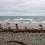 Tour de Bretagne en kayak de mer, 10 juillet, départ de Caroual.