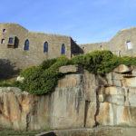 Le château construit par Louis Renault à Grande Ile, Chausey.