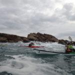 De la mousse en kayak de mer