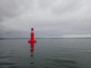 Bouée n°4 en rade de Brest