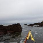 Rase-cailloux en kayak mer