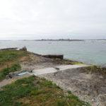 La nouvelle cale de fort Cigogne