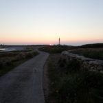 coucher de soleil sur Goulenez