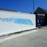 fresque du centre nautique de Sein